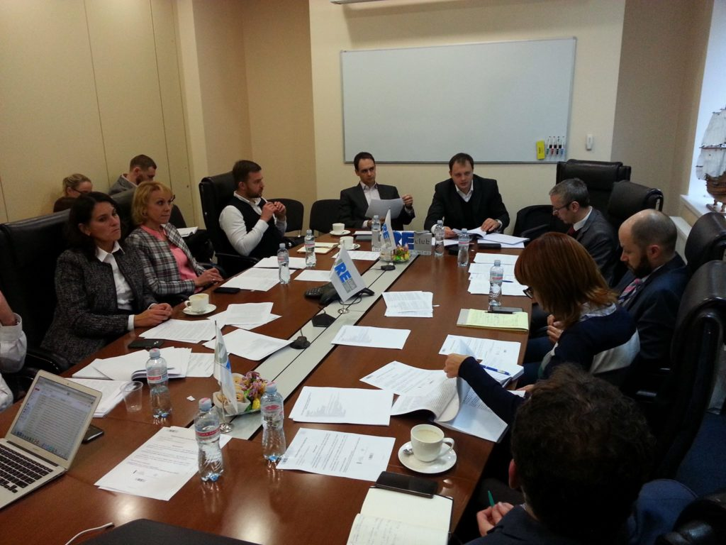 URE Club Committee on Issues of Law considered the draft law No. 7084 On the Protection of Property Rights